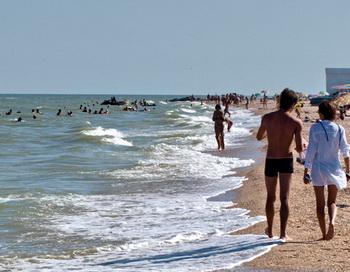 В Кирилловке на Азовском море. Фото: kirillovka.ks.ua