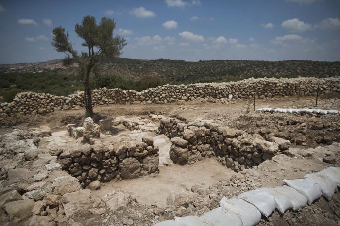 Место археологических раскопок в Израиле, 18 июля 2013 года. Фото: Uriel Sinai/Getty Images