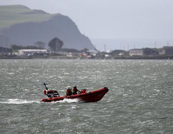 Спасательный катер. Фото: Matt Cardy/Getty Images