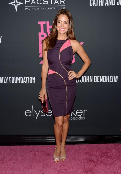 Телеведущая Кук Брук Берк посетила благотворительный вечер моды Pink Party в поддержку борьбы с «женским» раком 19 октября 2013 года в Санта-Монике (Калифорния, США). Фото: Jason Kempin/Getty Images for Cedars-Sinai Womens Cancer Program