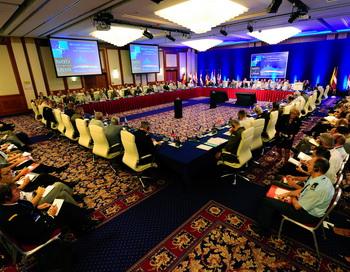 Встреча военного комитета НАТО. Фото: ATTILA KISBENEDEK/AFP/Getty Images