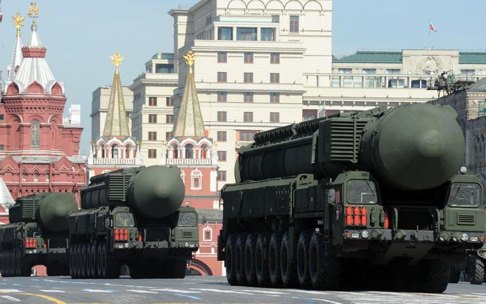 Российская межконтинентальная баллистическая ракета. Фото: YURI KADOBNOV/AFP/Getty Images