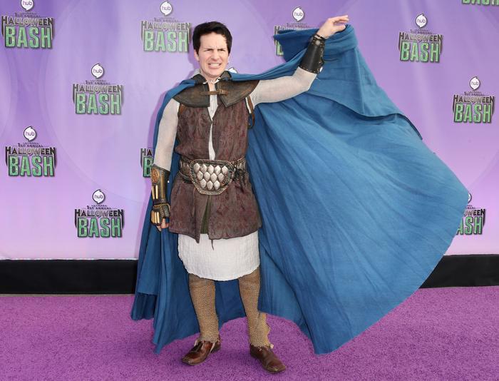 Актёр Хэл Спаркс прибыл 20 октября 2013 года в Санта-Монику на церемонию открытия новой награды «Джеки» за лучший костюм на Хэллоуин. Фото: Frederick M. Brown/Getty Images