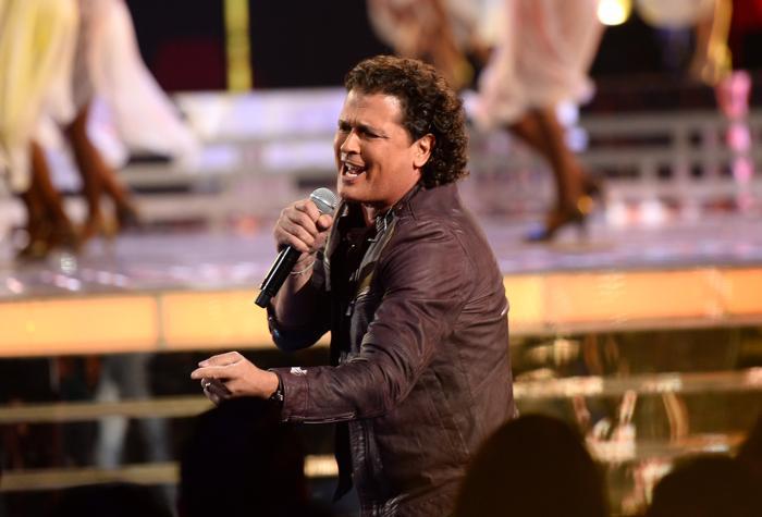 Лауреат премии «Латинская Грэмми» Карлос Вивес выступил на церемонии вручения наград 21 ноября 2013 года в Лас-Вегасе (США). Фото: Ethan Miller / Getty Images для LARAS