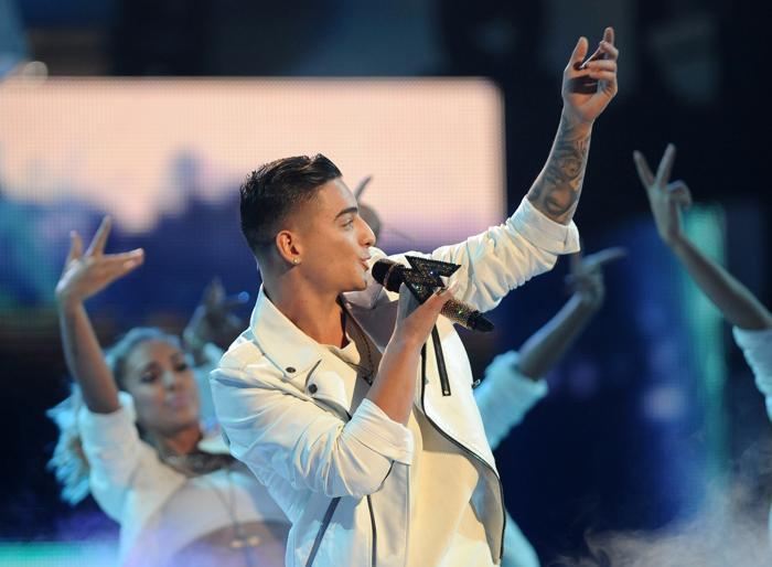 Maluma выступил на церемонии вручения наград «Латинская Грэмми» 21 ноября 2013 года в Лас-Вегасе (США). Фото: Ethan Miller / Getty Images для LARAS