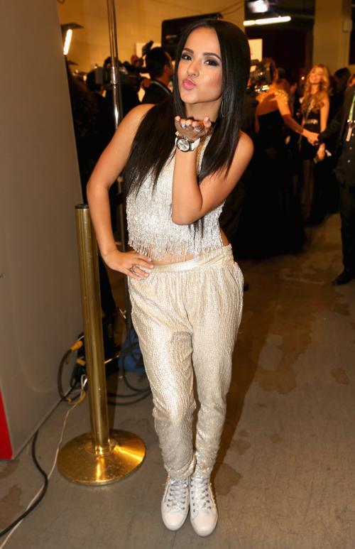 Becky G на церемонии вручения наград «Латинская Грэмми» 21 ноября 2013 года в Лас-Вегасе (США). Фото: Christopher Polk/Getty Images for LARAS