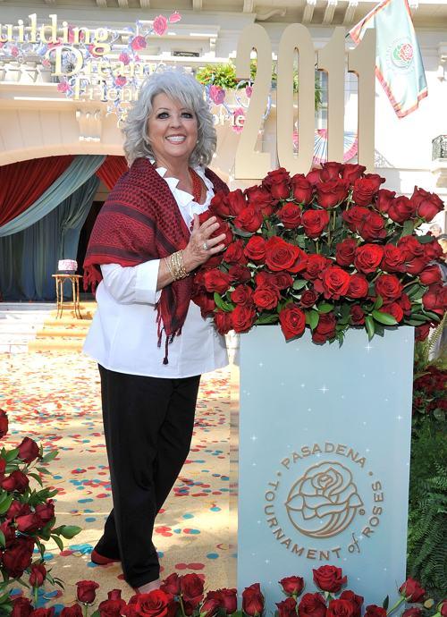 Одна из самых знаменитых поваров США Паула Дин на Параде роз в Калифорнии 1 января 2011 года. Фото: John M. Heller/Getty Images
