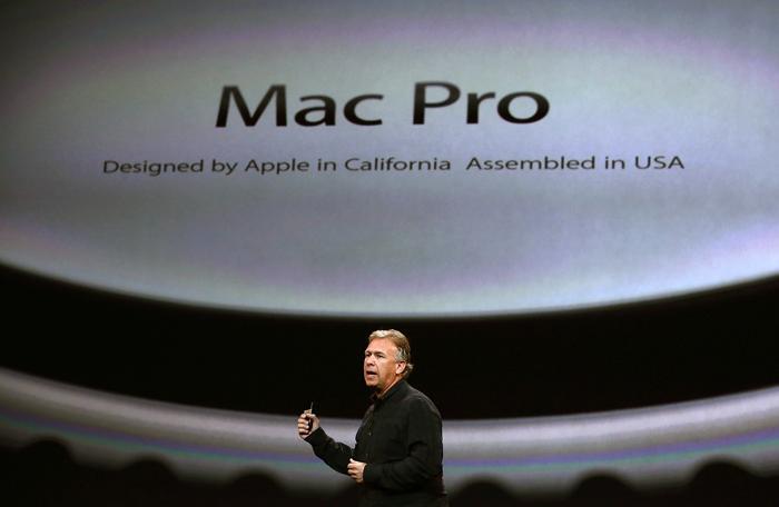 Новые Mac Pro собираются в США. Фото: Justin Sullivan/Getty Images