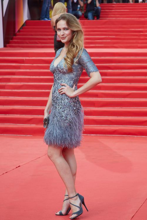 Анна Горшкова посетила закрытие кинофестиваля в Москве 29 июня 2013 года. Фото: Oleg Nikishin/Getty Images for Artefact