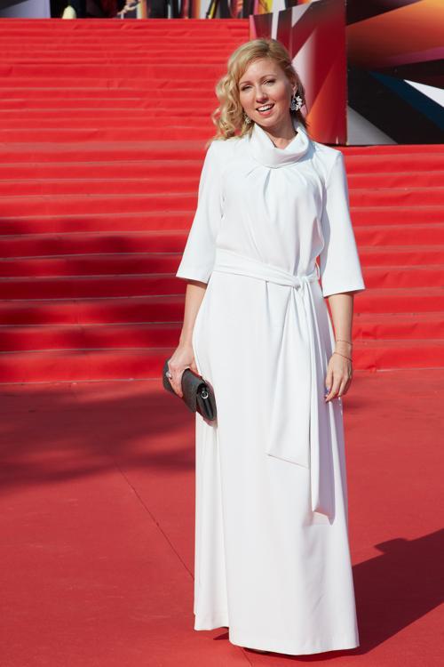 Телеведущая  Дарья Субботина посетила закрытие кинофестиваля в Москве 29 июня 2013 года. Фото: Oleg Nikishin/Getty Images for Artefact