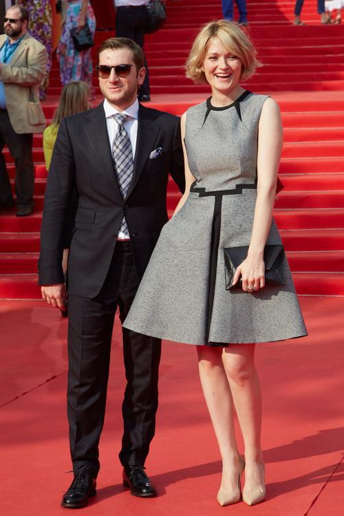 Надежда Михалкова с мужем режиссёром Резо Гигинеишвили посетили закрытие кинофестиваля в Москве 29 июня 2013 года. Фото: Oleg Nikishin/Getty Images for Artefact