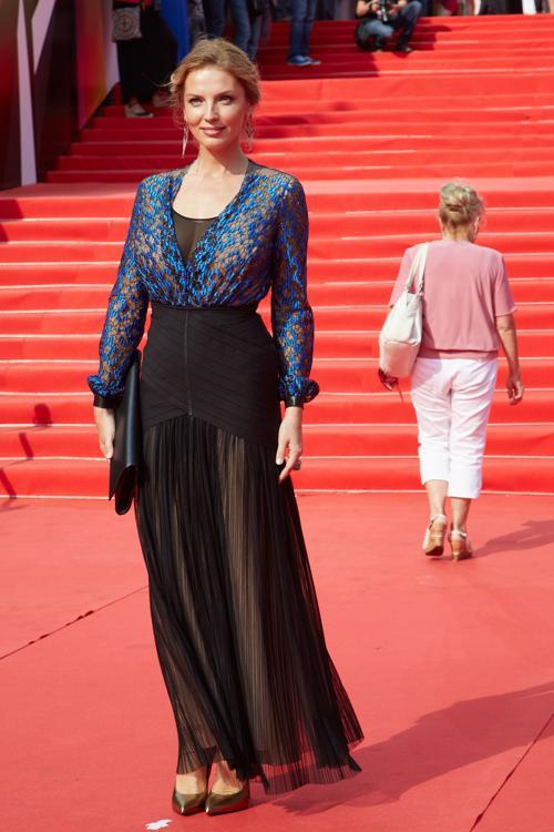 Анастасия Рагозина посетила закрытие кинофестиваля в Москве 29 июня 2013 года. Фото: Oleg Nikishin/Getty Images for Artefact