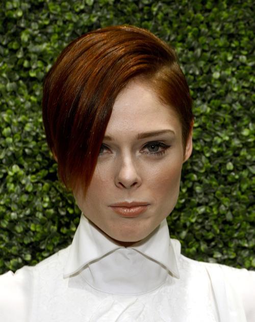 Модель Коко Роша. Знаменитости представили модные причёски осени на ярких мероприятиях октября 2013 года. Фото: Larry Busacca/Getty Images for Ralph Lauren