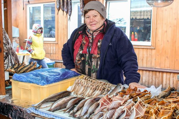 Кто же сможет отказаться от такой аппетитной рыбки? Фото: Сергей Мошкирёв/Великая Эпоха (The Epoch Times)
