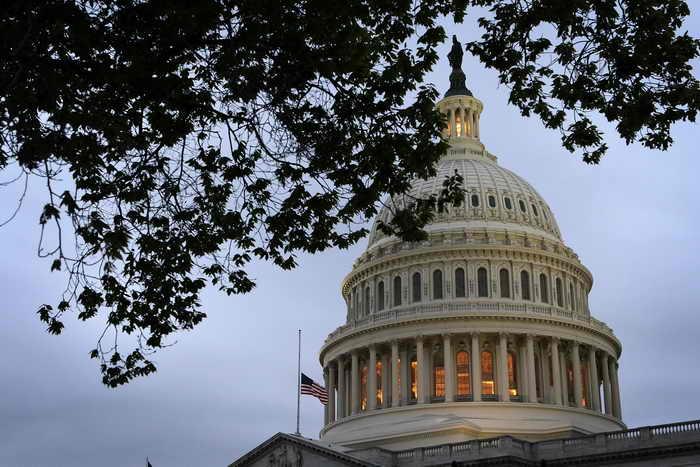 Сенаторы в США нашли компромисс по госдолгу. Фото: Alex Wong/Getty Images