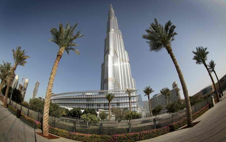 Дубай. Башня