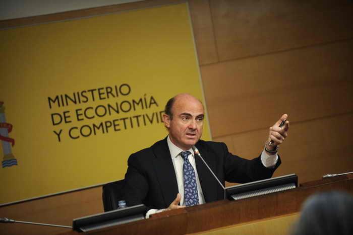 Испания. Министр экономики Луис де Guindos. Фото: PEDRO ARMESTRE/AFP/GettyImages