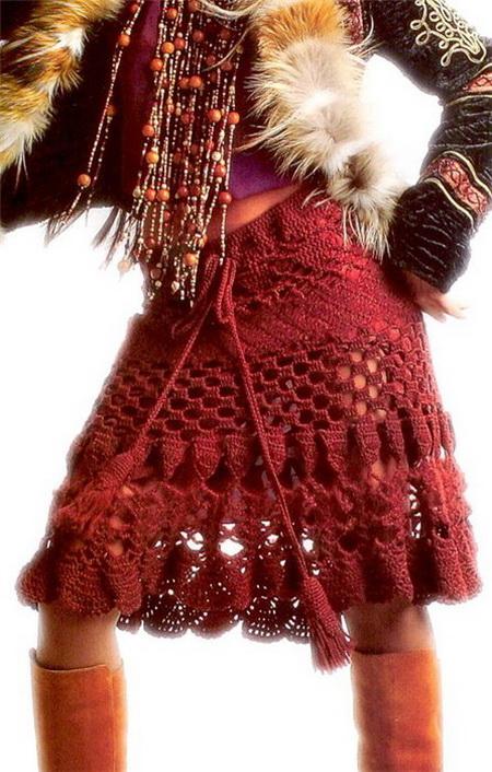 Вязание спицами. Красота и здоровье – в одном клубке. Модель связанная крючком. Фото с s51.radikal.ru