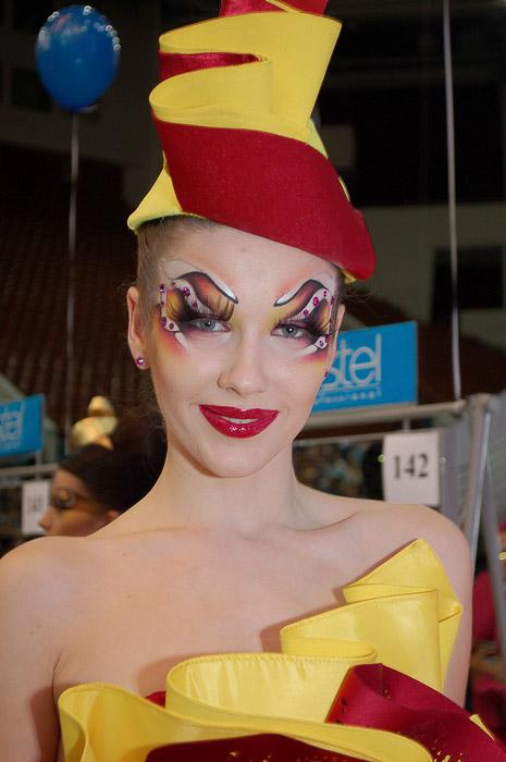 Подиумный макияж 2013. Фестиваль Красоты