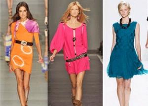 Модные цвета платьев весны-2010. Фото с sympaty.net