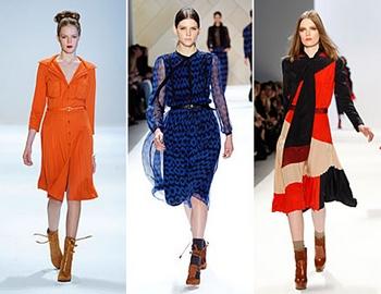 Мода Осень Платья Доставка
