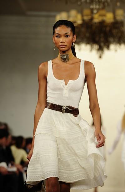Коллекция Ralph Lauren Весна-2011 на Неделе моды Mercedes-Benz в Нью-Йорке. Фото: EMMANUEL DUNAND/AFP/Getty Images