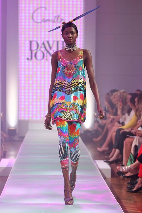 Коллекция платьев и костюмов от Dion Lee на показе David Jones S/S 2012/13 в Австралии. Часть 1 Фоторепортаж. Фото: Graham Denholm/Getty Images