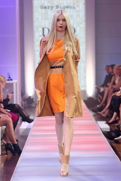 Коллекция платьев и костюмов от Dion Lee на показе David Jones S/S 2012/13 в Австралии. Часть 2. Фоторепортаж. Фото: Graham Denholm/Getty Images