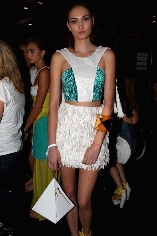 Модели после показа New Generation 2 на  MBFWA весна-лето 2012/13 в Австралии. Фоторепортаж. Фото: Stefan Gosatti/Getty Images