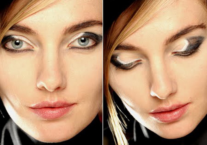 Модные тенденции маникюра и макияжа 2013.  Фото: womensblog.ru