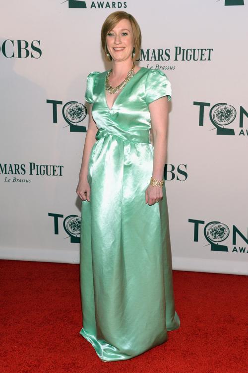 Наряды знаменитостей на церемонии награждения 66th Annual Tony Awards. Heather Hitchens. Фоторепортаж. Фото: Mike Coppola/Getty Images