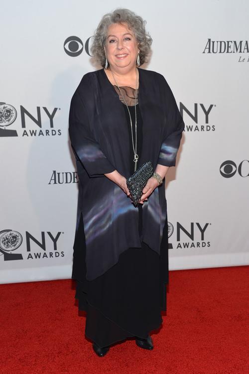 Наряды знаменитостей на церемонии награждения 66th Annual Tony Awards. Jayne Houdyshell. Фоторепортаж. Фото: Mike Coppola/Getty Images