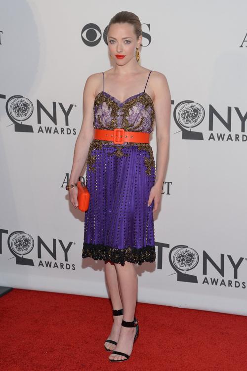 Наряды знаменитостей на церемонии награждения 66th Annual Tony Awards. Amanda Seyfried. Фоторепортаж. Фото: Mike Coppola/Getty Images