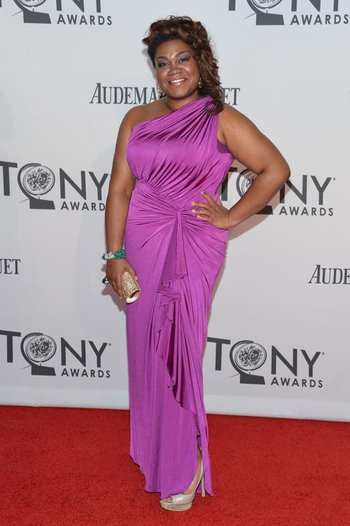 Наряды знаменитостей на церемонии награждения 66th Annual Tony Awards. Da?Vine Joy Randolph. Фоторепортаж. Фото: Mike Coppola/Getty Images