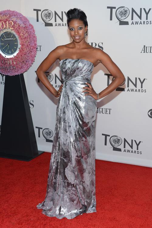 Наряды знаменитостей на церемонии награждения 66th Annual Tony Awards. Condola Rashad. Фоторепортаж. Фото: Mike Coppola/Getty Images