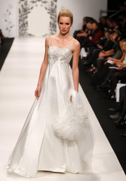 Свадебные коллекции европейских дизайнеров представленные  в Новой Зеландии. Фото: Graham Denholm/Sandra Mu/Getty Images