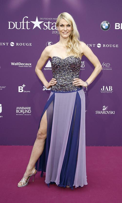 Звезды на Duftstars Awards 2012 в Берлине. Natascha Gruen. Фоторепортаж. Фото: Andreas Rentz/Getty Images