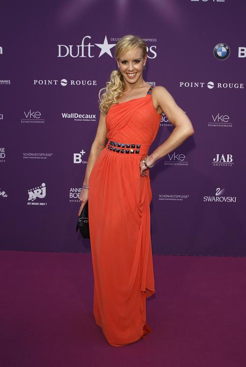 Звезды на Duftstars Awards 2012 в Берлине. Isabel Edvardsson. Фоторепортаж. Фото: Andreas Rentz/Getty Images