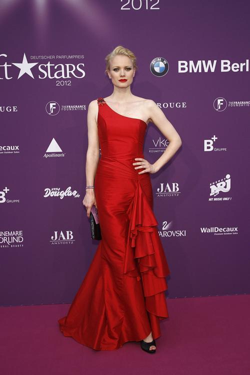 Звезды на Duftstars Awards 2012 в Берлине. Franziska Knuppe. Фоторепортаж. Фото: Andreas Rentz/Getty Images