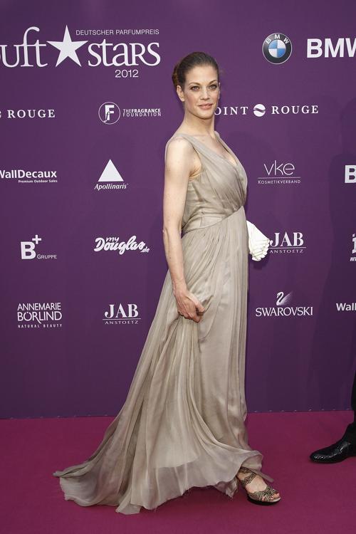Звезды на Duftstars Awards 2012 в Берлине. Marie Baeumer. Фоторепортаж. Фото: Andreas Rentz/Getty Images