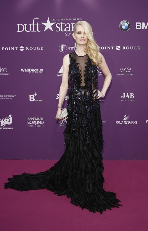 Звезды на Duftstars Awards 2012 в Берлине. Mirja du Mont. Фоторепортаж. Фото: Andreas Rentz/Getty Images
