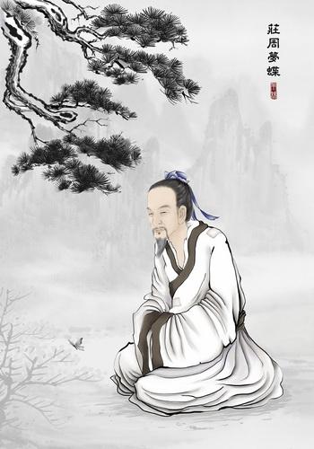 Чжуан-цзы - главный патриарх даосизма наряду с Лао-цзы. Иллюстрация: С. М. Ян/Великая Эпоха (The Epoch Times)