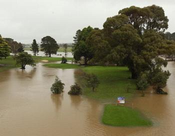 Наводнение в Австралии. Фото: Cameron Spencer/Getty Images