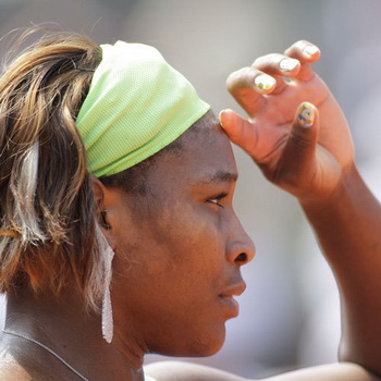 Американская теннисистка Серена Уильямс. Фото РИА Новости