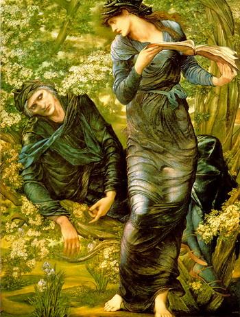 Эдвард Берн-Джонс, «The Beguiling of Merlin», 1874. Одна из картин прошлого «творческого реализма». Фото с сайта theepochtimes.com