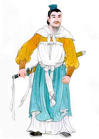Хань Синь, талантливый военный стратег. Иллюстрация: Блу Сяо/Великая Эпоха (The Epoch Times)