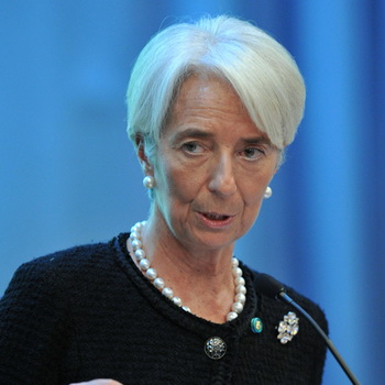 Директор-распорядитель Международного валютного фонда Кристин Лагард. Фото РИА Новости