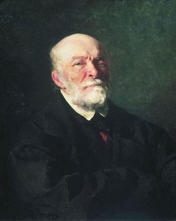 Портрет Н.И. Пирогова работы И.Е. Репина. 1881. Фото: wikipedia.org