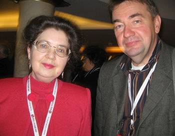 Тамара Лисицина, Геннадий Смирнов. Фото: Татьяна Петрова/Великая Эпоха (The Epoch Times)