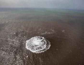 Извержение подводного вулкана. Фото: DESIREE MARTIN/AFP/Getty Images